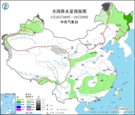 沙尘暴席卷北方【5省区市】 江南雨势将增强