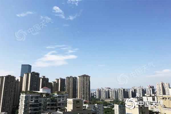 重庆发布暴雨Ⅳ级预警 东北部等地部分地区有大到暴雨