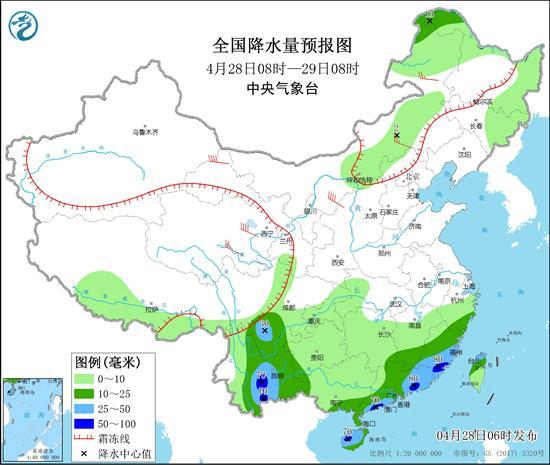 南方降雨范围收缩 中东部明起迎大升温
